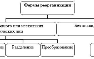 Реорганизация ОАО в ООО в различных формах