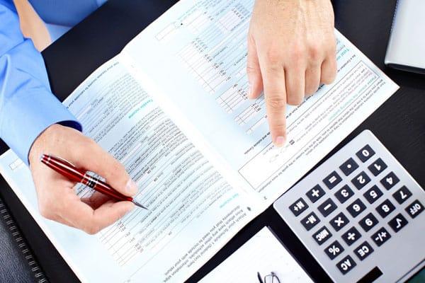 заполнение документов для регистрации